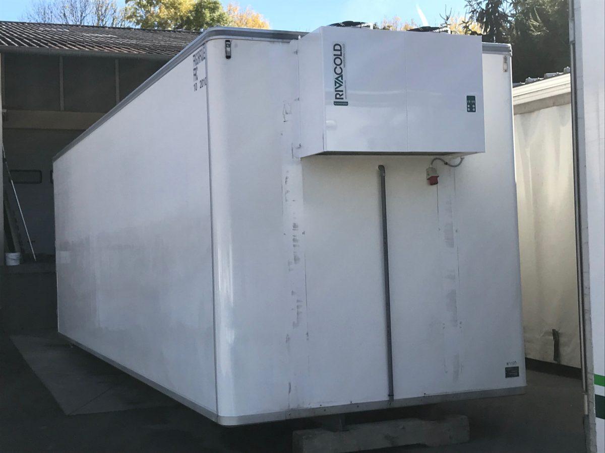 caisson de 50m3 temperature n gative a7 frigoa7 frigo. Black Bedroom Furniture Sets. Home Design Ideas